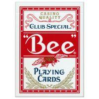 Bee Standard Spielkarten rot