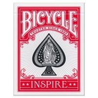 Bicycle Inspire Spielkarten rot