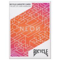 Bicycle Cardistry Karten Neon Orange