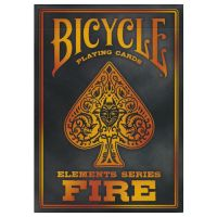 Bicycle Playing Cards Fire