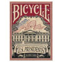 Bicycle U.S. Presidents Spielkarten rot