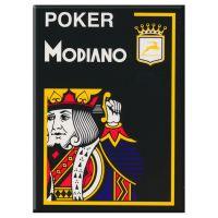 Modiano Karten Poker Cristallo 4 Eckzeichen schwarz
