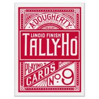 Tally-Ho Circle Back Karten rot
