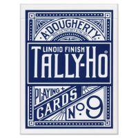 Tally-Ho Fan Back Spielkarten blau