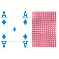 COPAG Kunststoff Spielkarten 4 Farbe rot