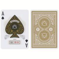 Weiße Artisan Spielkarten