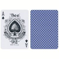 Bee Standard Spielkarten blau