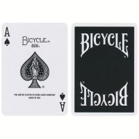 Bicycle Insignia Back Playing Cards schwarz