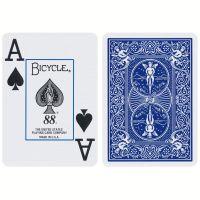 Spielkarten Bicycle 88 Rider Back Jumbo Index blau