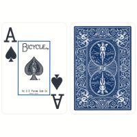 Bicycle Prestige Poker Spielkarten Plastik blau
