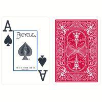 Bicycle Prestige Poker Spielkarten Plastik rot
