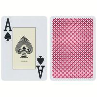Blackjack Spielkarten Cartamundi rot
