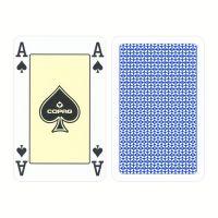 COPAG Bridgekarten 4 Eckzeichen blau