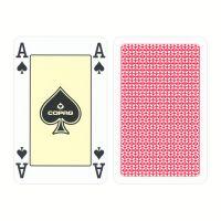 COPAG Bridgekarten 4 Eckzeichen rot