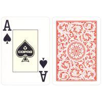 COPAG Plastik Pokerkarten Doppeldeck rot & blau