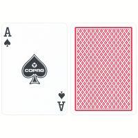 COPAG reguläre Index Spielkarten rot