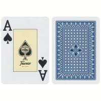 Fournier Poker 818 Jumbo Index Premium Karten blau