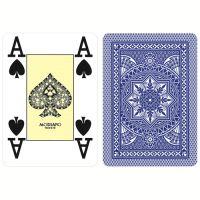 Modiano Karten Poker Cristallo 4 Eckzeichen blau