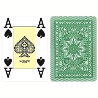 Modiano Karten Poker Cristallo 4 Eckzeichen dunkelgrün