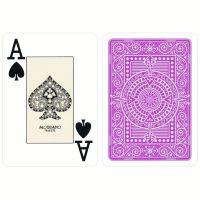 Plastik Spielkarten Modiano Texas Poker lila