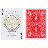 Spielkarten Bicycle Legacy Masters rot