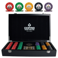Copag Texas Hold'em Poker Set 300 Chips