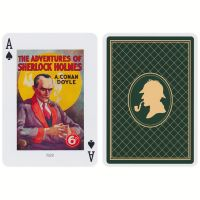 Sherlock Holmes Spielkarten Piatnik