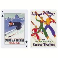 Ski Kunst Spielkarten Piatnik