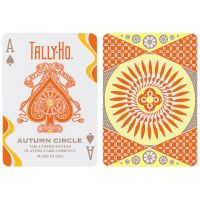 Tally-Ho Autumn Circle Back Spielkarten
