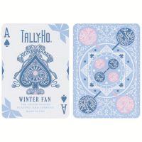 Tally-Ho Winter Fan Back Spielkarten 2020