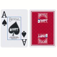 World Poker Tour Spielkarten Bicycle rot