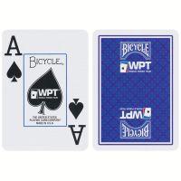 World Poker Tour Spielkarten Bicycle blau